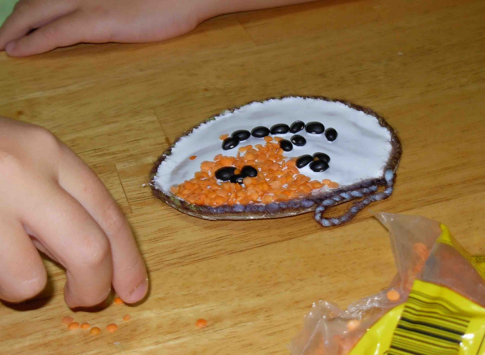 halloween seed mosaic craft-3