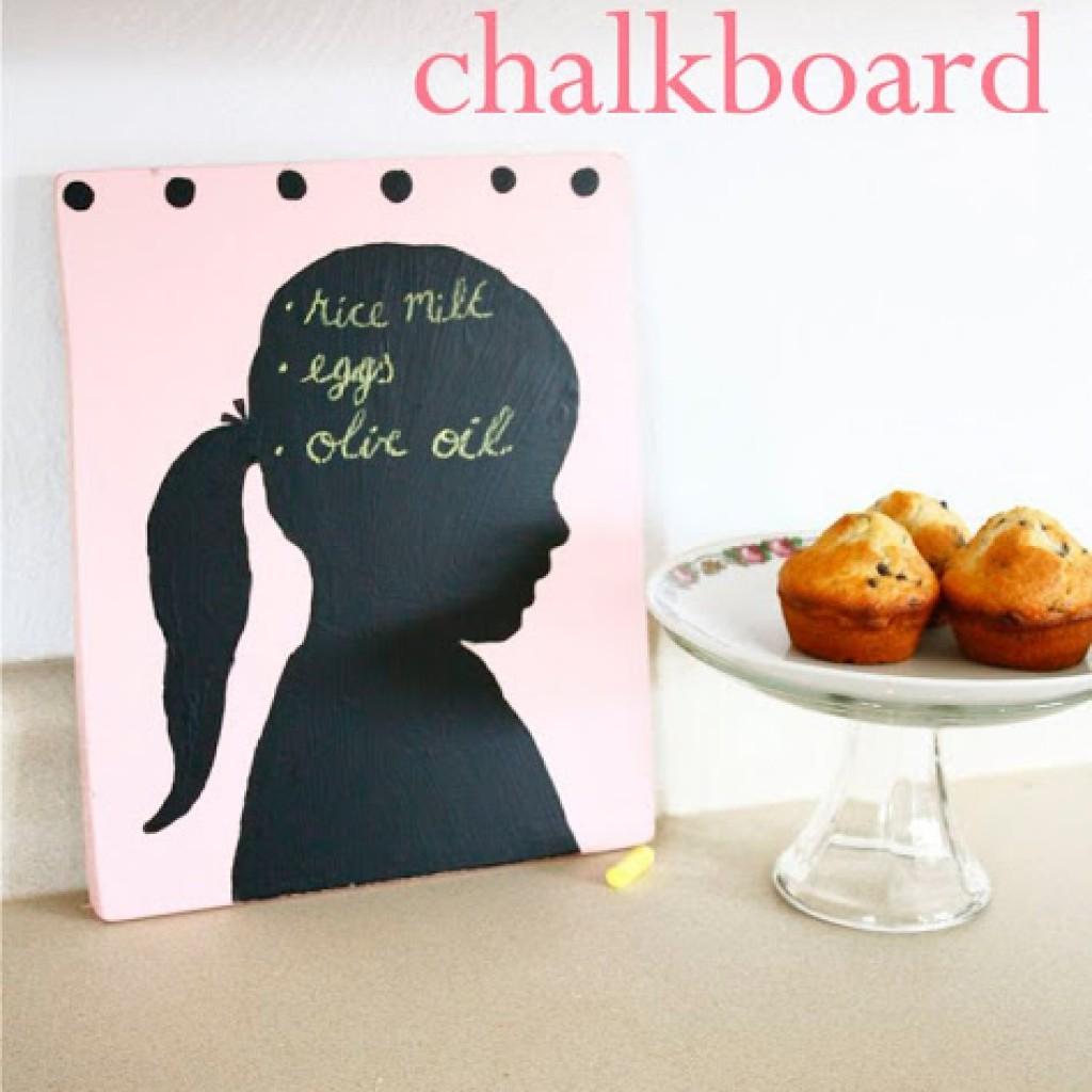 Silhouette Chalkboard
