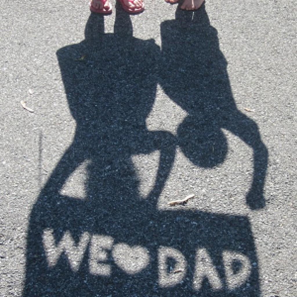 Dad Stencil Picture