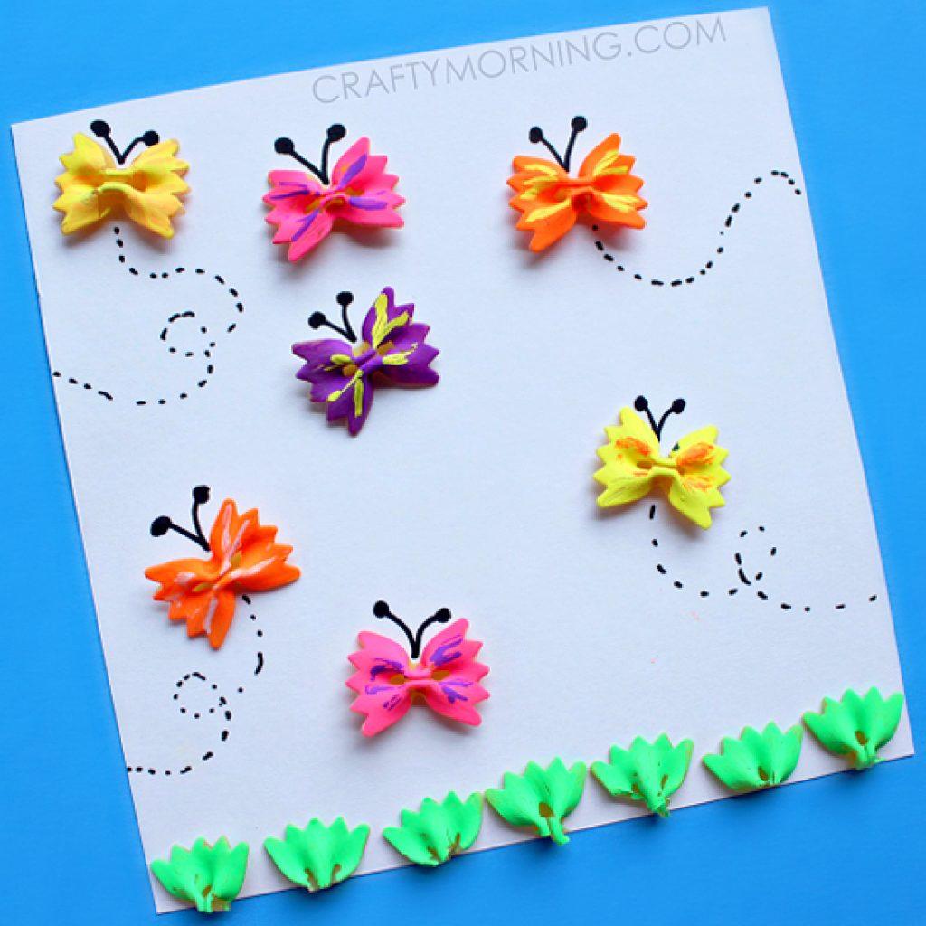Бабочки своими руками детям